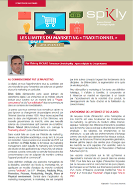 Avis d'expert Les Limites du marketing traditionnel