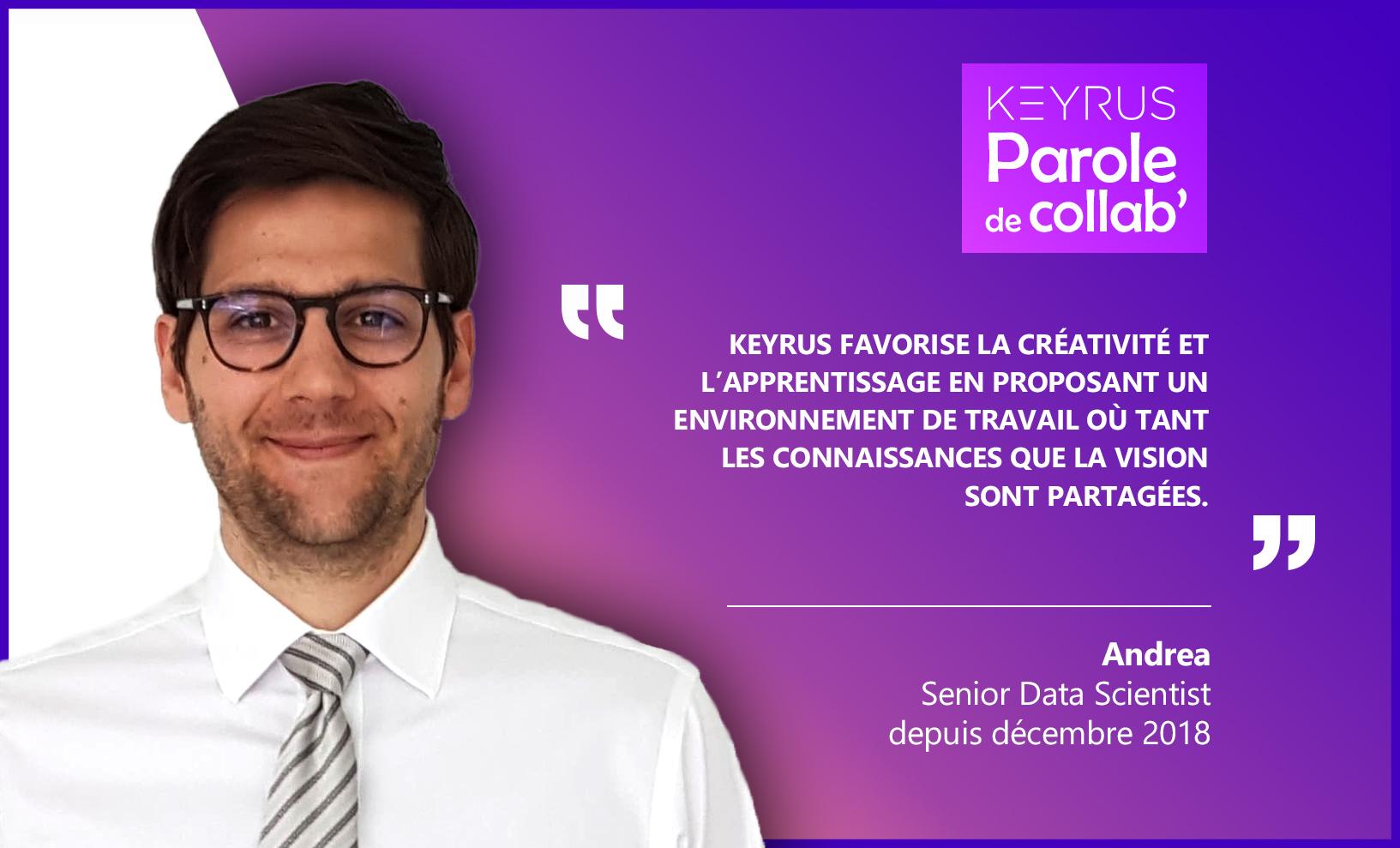 Interview d'Andrea Mogini de Keyrus
