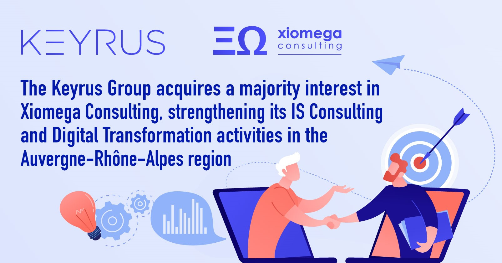 The Keyrus Group acquires a majority interest in Xiomega Consulting