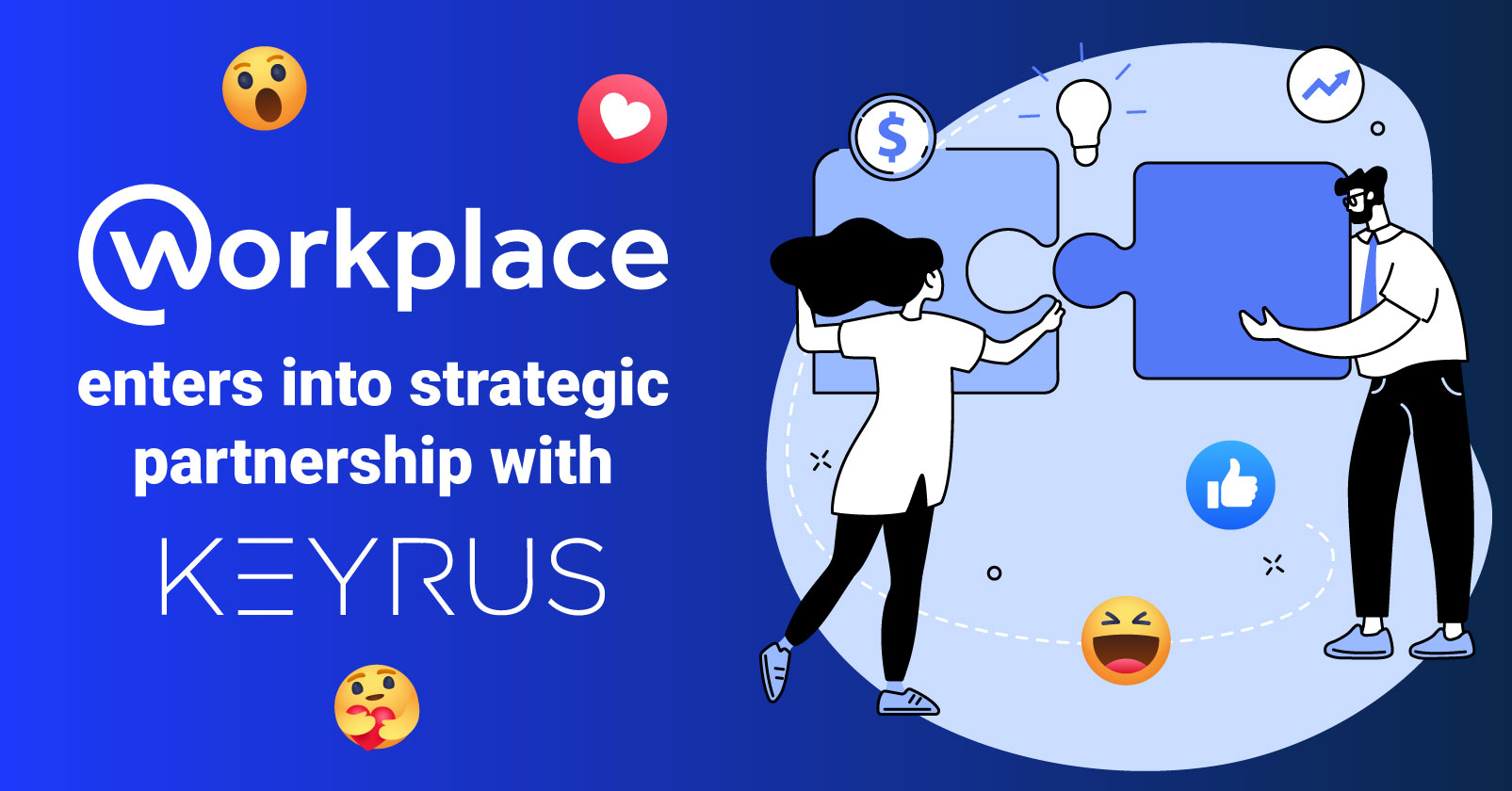 Workplace enters into strategic partnership with Keyrus