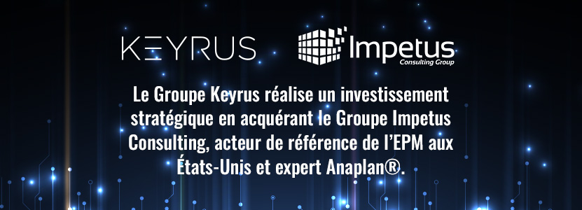 Keyrus investissement stratégique Impetus