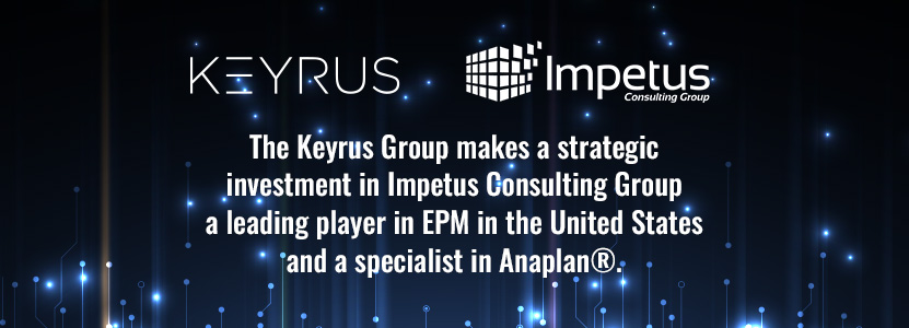Keyrus Group strategic investment Impetus