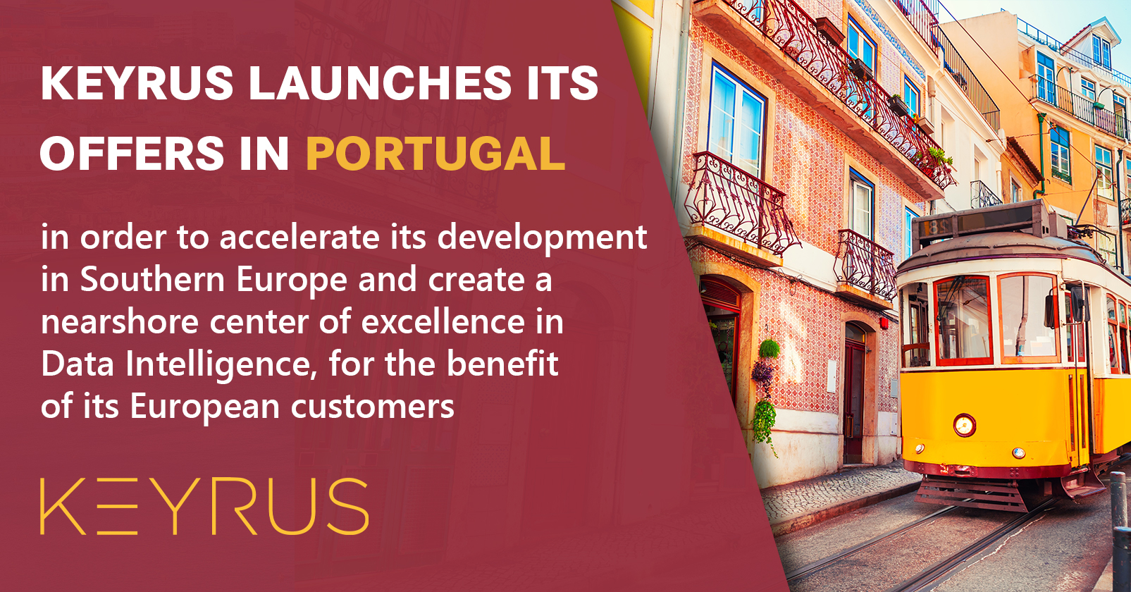 Keyrus launches its offers in Portuga