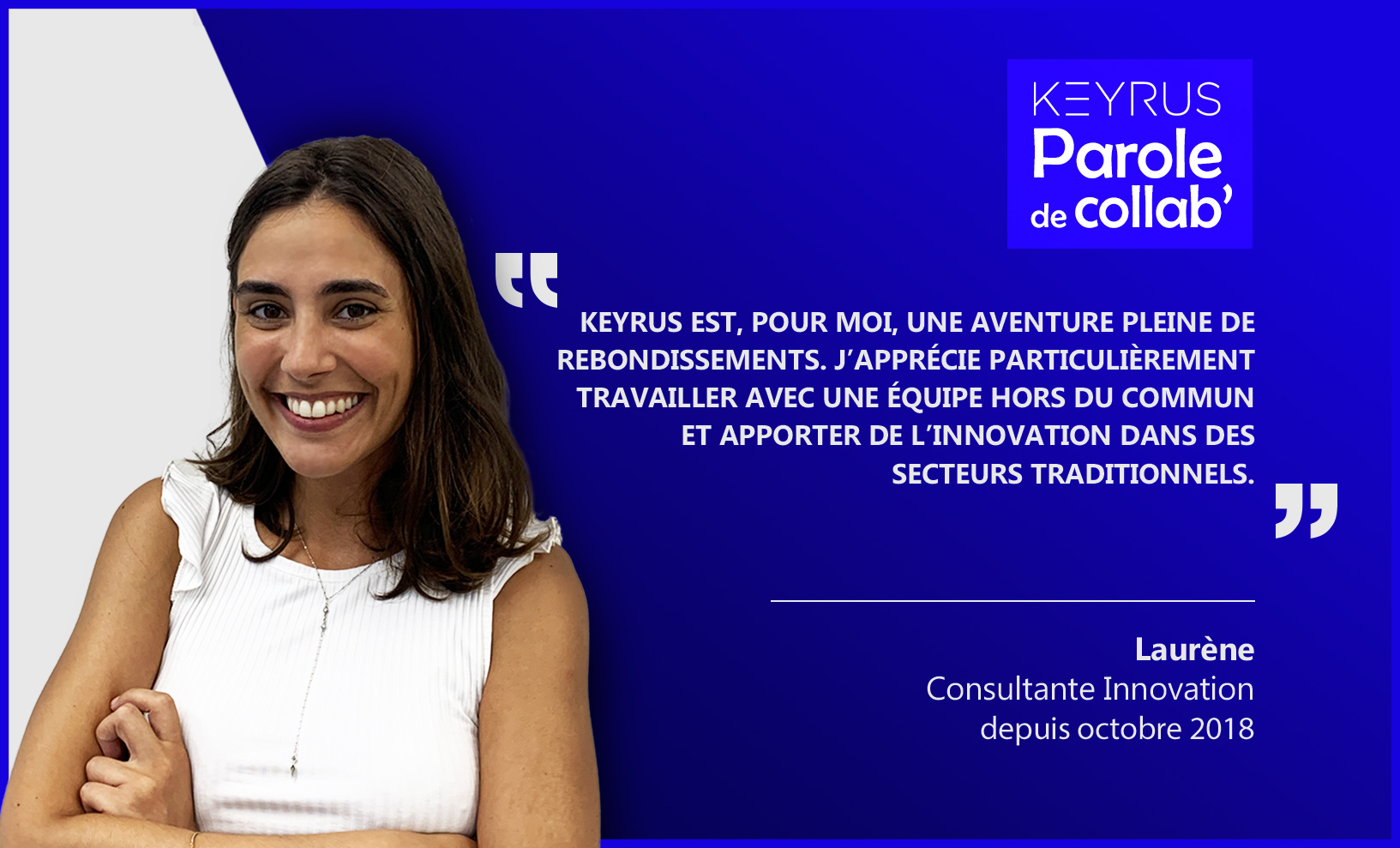 Interview de Laurène Moutot de Keyrus