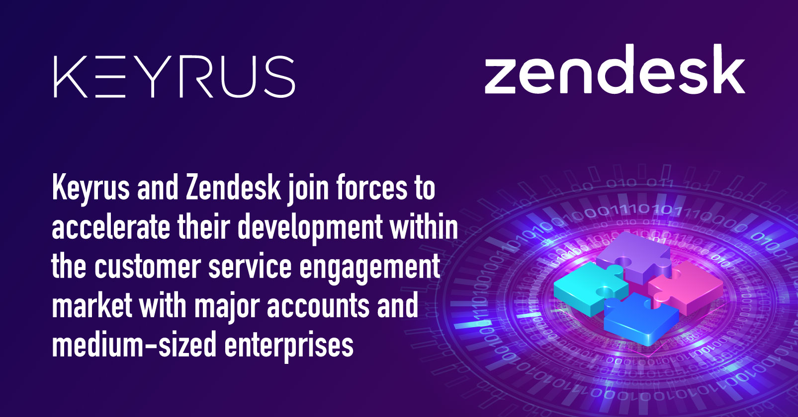 PR Keyrus and Zendesk