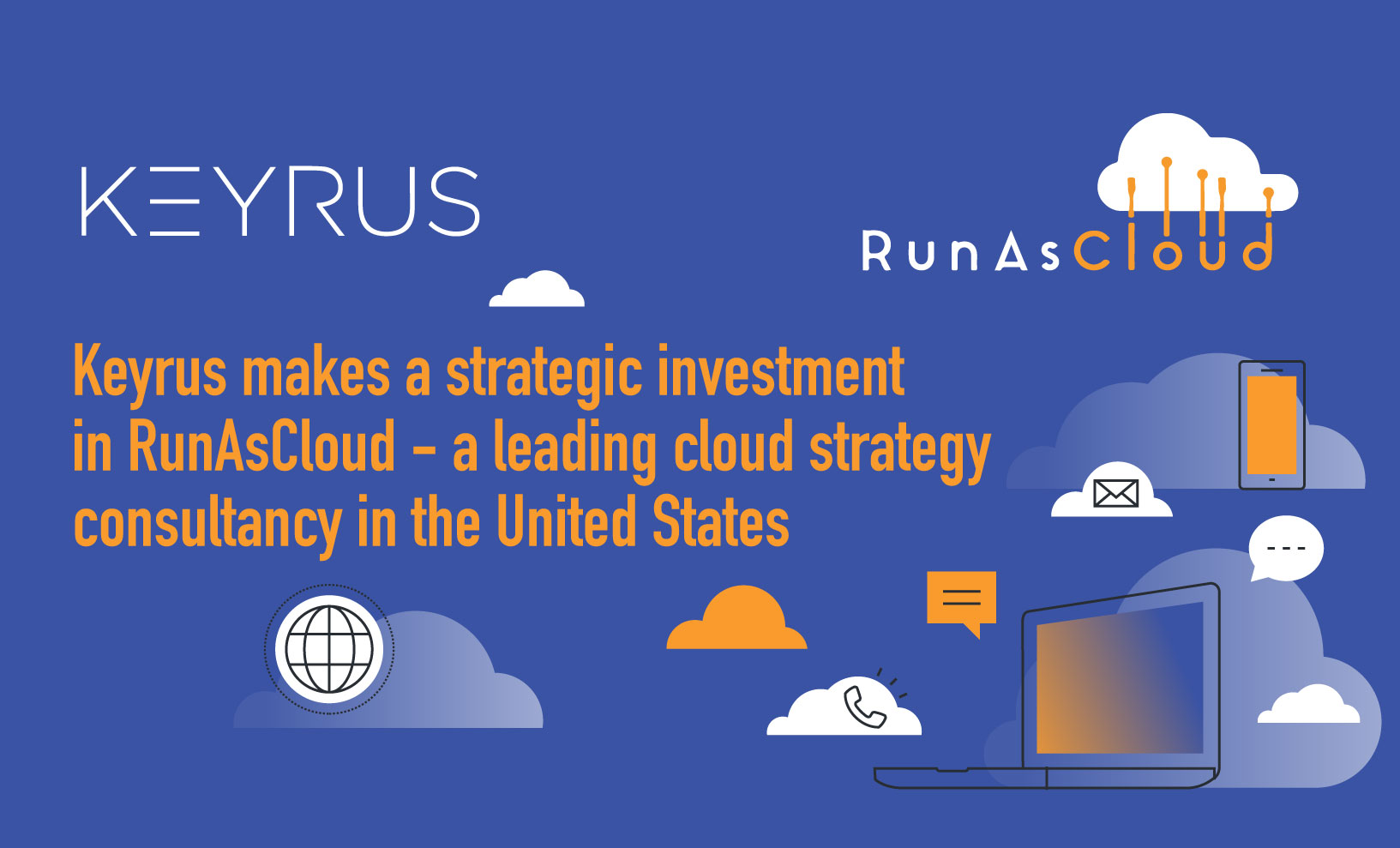 Keyrus makes a strategic investment in RunAsCloud