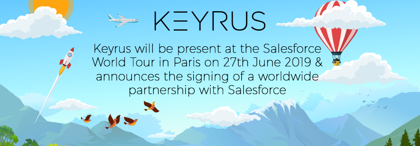 Keyrus worldwide partnership with Salesforce