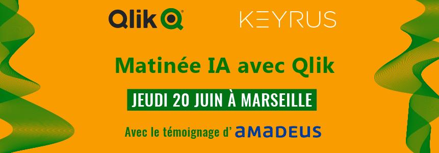 KEYRUS | Marseille - Matinée IA avec Qlik