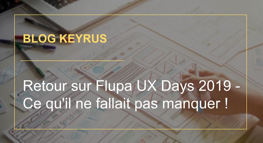 Retour sur Flupa UX Days 2019